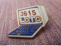A006 -- Pin's Decat -- 3615 Loto - Jeux