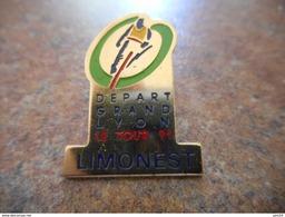 A008 -- Pin's Depart Grand Lyon Le Tour 91 - Limonest - Cyclisme