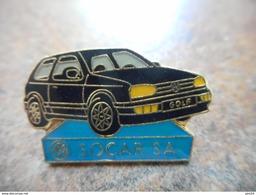 A008 -- Pin's Golf Socar SA - Volkswagen