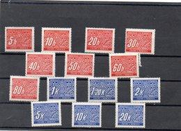 BOHEME ET MORAVIE 1939-40 ** - Bohême & Moravie