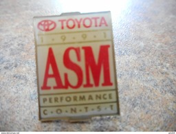 A008 -- Pin's Toyota ASM - Toyota
