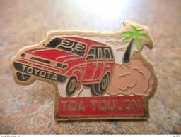 A008 -- Pin's Toyota Toulon - Toyota