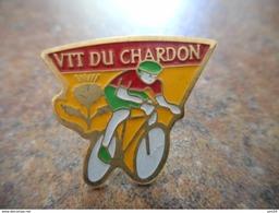 A008 -- Pin's Vtt Du Chardon  -- Exclusif Sur Delcampe - Cyclisme