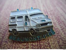 A009 -- Pin's Ambulance Beaumontaises - Transports