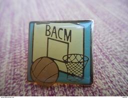 A009 -- Pin's BACM - Basketball