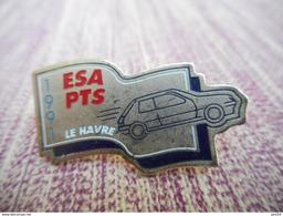 A009 -- Pin's ESA PTS Le Havre 1991 - Pin's & Anstecknadeln