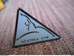 A009 -- Pin's Gym Agathea -- Exclusif Sur Delcampe - Gymnastique