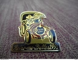 A009 -- Pin's Retro Ma Bulles 1991 - Autres
