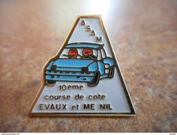 A010 -- Pin's ASAM 10e Course De Cote Evaux Et Menil - Automobile - F1