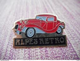 A010 -- Pin's Alpes Retro - Andere