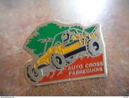A010 -- Pin's Auto Cross Fabreguois - Autres