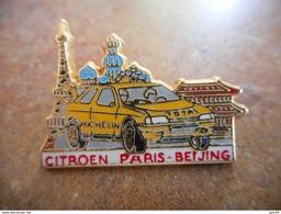 A010 -- Pin's Citroen Paris Beijing - Citroën