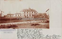 CARTE PHOTO  METZ  1898 JOHANNESSTIFT MAISON Des PETITES SOEURS Des PAUVRES Ancienne Entrée RUE DES PETITES SOEURS - Metz