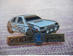 A011 -- Pin's Skoda Reseau Pock -- Exclusif Sur Delcampe - Autres