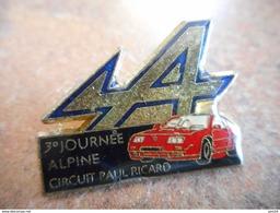 A012 -- Pin's 3eme Journee Alpine Circuit Paul Ricard - Rallye