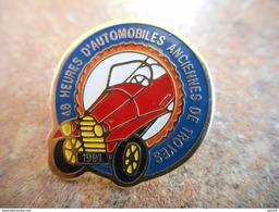 A012 -- Pin's 48 Heures D'Automobile Anciennes De Troyes - Rallye