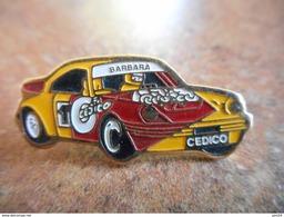 A012 -- Pin's Barbara Cedico - Rallye