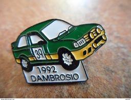 A012 -- Pin's Dambrosio 1992 - Rally