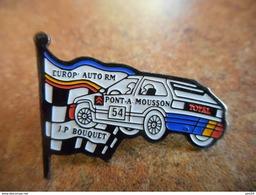 A012 -- Pin's Europ' Auto RM - JP Touquet Pont A Mousson - Citroen Total - Rally