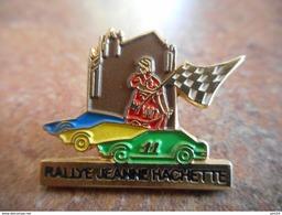 A012 -- Pin's Rallye Jeanne Hachette - Rally