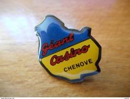A016 -- Pin's Géant Casino Chenove - Merken