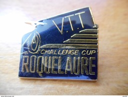 A016 -- Pin's Roquelaure VTT Challenge Cup - Cyclisme