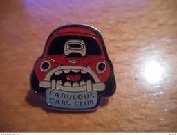 A018 -- Pin's Fabulous Cars Club - Autres