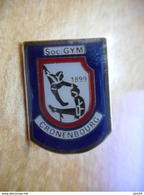 A018 -- Pin's Gymnastique Cronenbourg 1899 - Gymnastique