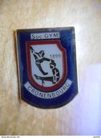 A018 -- Pin's Gymnastique Cronenbourg 1899 - Gimnasia