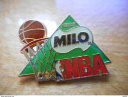 A018 -- Pin's Milo NBA - Basketball