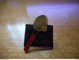A018 -- Pin's TC Aulnoy - Tennis De Table