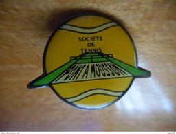 A018 -- Pin's Tennis Pont A Mousson - Tennis