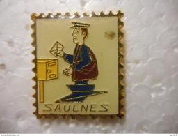 A020 -- Pin's La Poste Saulnes -- Exclusif Sur Delcampe - Correo