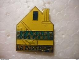A020 -- Pin's Poste Epargne Logement - Postwesen