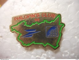 A020 -- Pin's Poste Philopin's Club 88 - Postwesen
