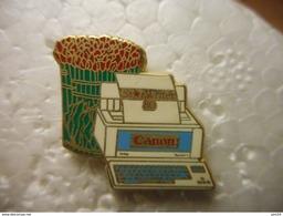 A023 -- Pin's Canon Star Writer 80 - Informatique