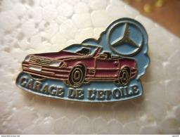 A023 -- Pin's Garage De L'Etoile Mercedes - Mercedes