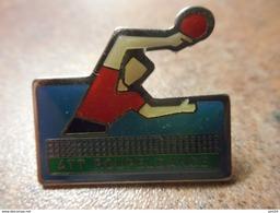 A024 -- Pin's ATT Roupeldange  -- Exclusif Sur Delcampe - Tennis De Table