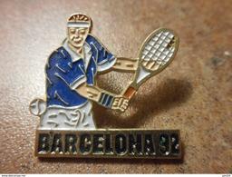 A024 -- Pin's Barcelona 92 - Tennis