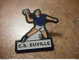 A024 -- Pin's CS Euville -- Exclusif Sur Delcampe - Balonmano