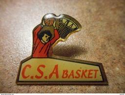 A024 -- Pin's CSA Basket - Basketball