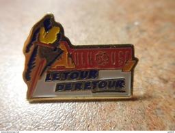 A024 -- Pin's Mulhouse Le Tour De Retour - Cyclisme