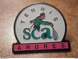 A024 -- Pin's Tennis SCA Ardres - Tennis