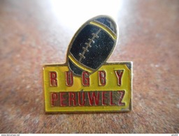 A025 -- Pin's Rugby Peruwelz - Rugby