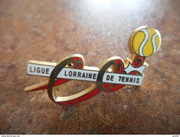 A025 -- Pin's Ligue Lorraine De Tennis - Tennis