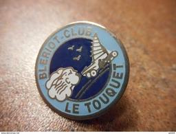 A032 -- Pin's Bleriot Club Le Touquet -- Exclusif Sur Delcampe - Zeilen
