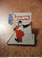 A032 -- Pin's Skilove - Sports D'hiver