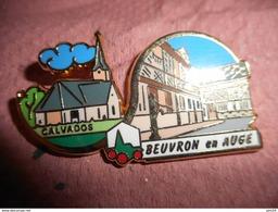 A0015 -- Pin's Des Plus Beaux Villages De France - PBVF - Beuvron En Auge - Calvados - Städte