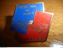 A002 -- Pin's Grand Prix De France 5 Juilet 1992 - Automobile - F1