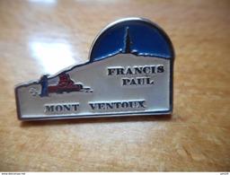 A002 -- Pin's Mont Ventoux Francis Paul -- Exclusif Sur Delcampe - Personajes Célebres